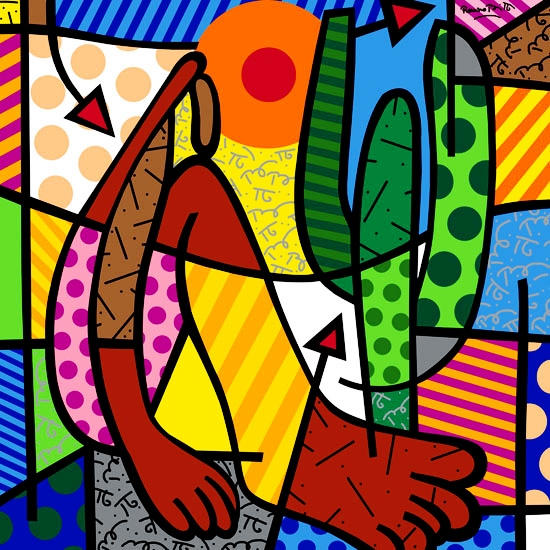 Range of Arts - Romero Britto - Fine Art Prints - Abaperu
