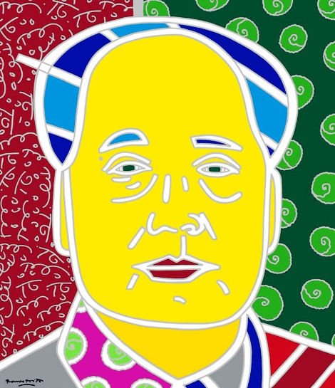 Range of Arts - Romero Britto - Fine Art Prints - Mao Zhedong