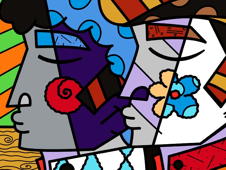 Range of Arts - Romero Britto - Fine Art Prints - Mirror