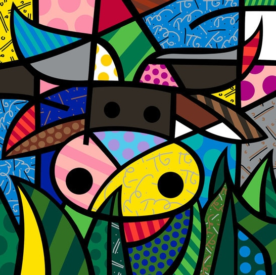 Range of Arts - Romero Britto - Fine Art Prints - My Cow
