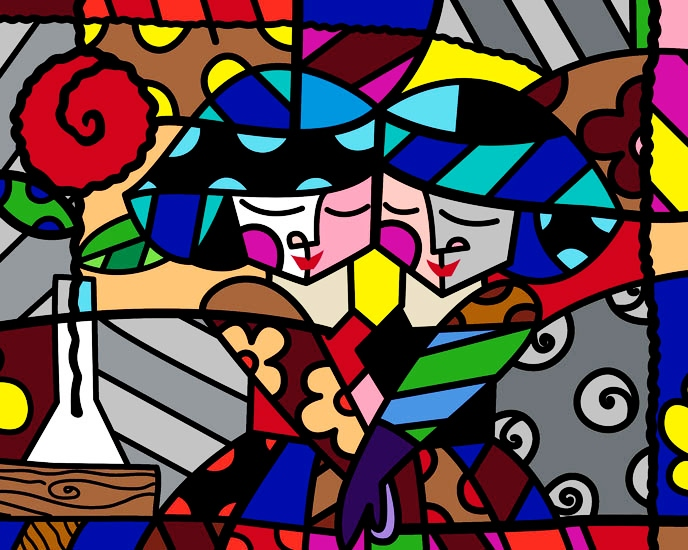 Range of Arts - Romero Britto - Fine Art Prints - Sisters