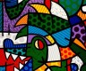 Range of Arts - Romero Britto - Original Artworks - The Dragon