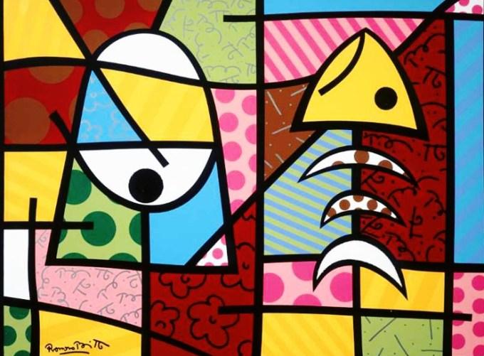 Range of Arts - Romero Britto - Original Artworks - Too Much Too Little