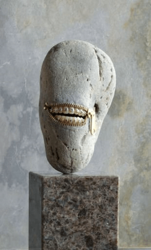 Range of Arts - Sculpture - Hirotoshi Itoh - Laughing Stone 6