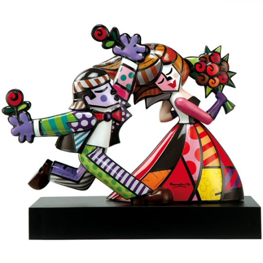 Range of Arts - Porcelain Sculpture - Romero Britto - Follow Me