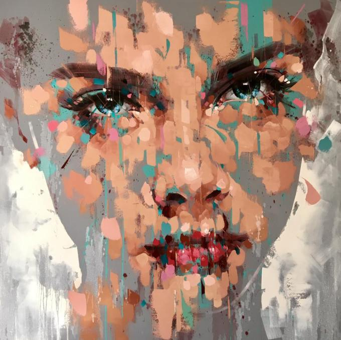 jimmy law painting expressive art price for sale south africa artist contemporary oil on canvas