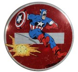 thierry beaudenon artiste street art dessin superheroes comics honfleur captain america