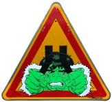 thierry beaudenon artiste street art dessin superheroes comics honfleur hulk