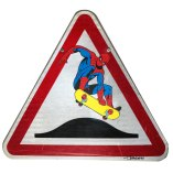 thierry beaudenon artiste street art dessin superheroes comics honfleur spiderman