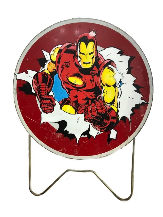 thierry beaudenon artiste street art dessin superheroes comics honfleur ironman