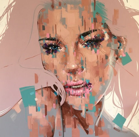 jimmy law painting expressive art price for sale south africa artist contemporary oil on canvas portrait painting woman