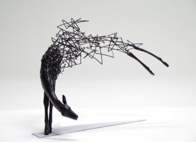 Range of Arts - Iron Wire Sculpture - Tomohiro Inaba - The Night Stars Returned
