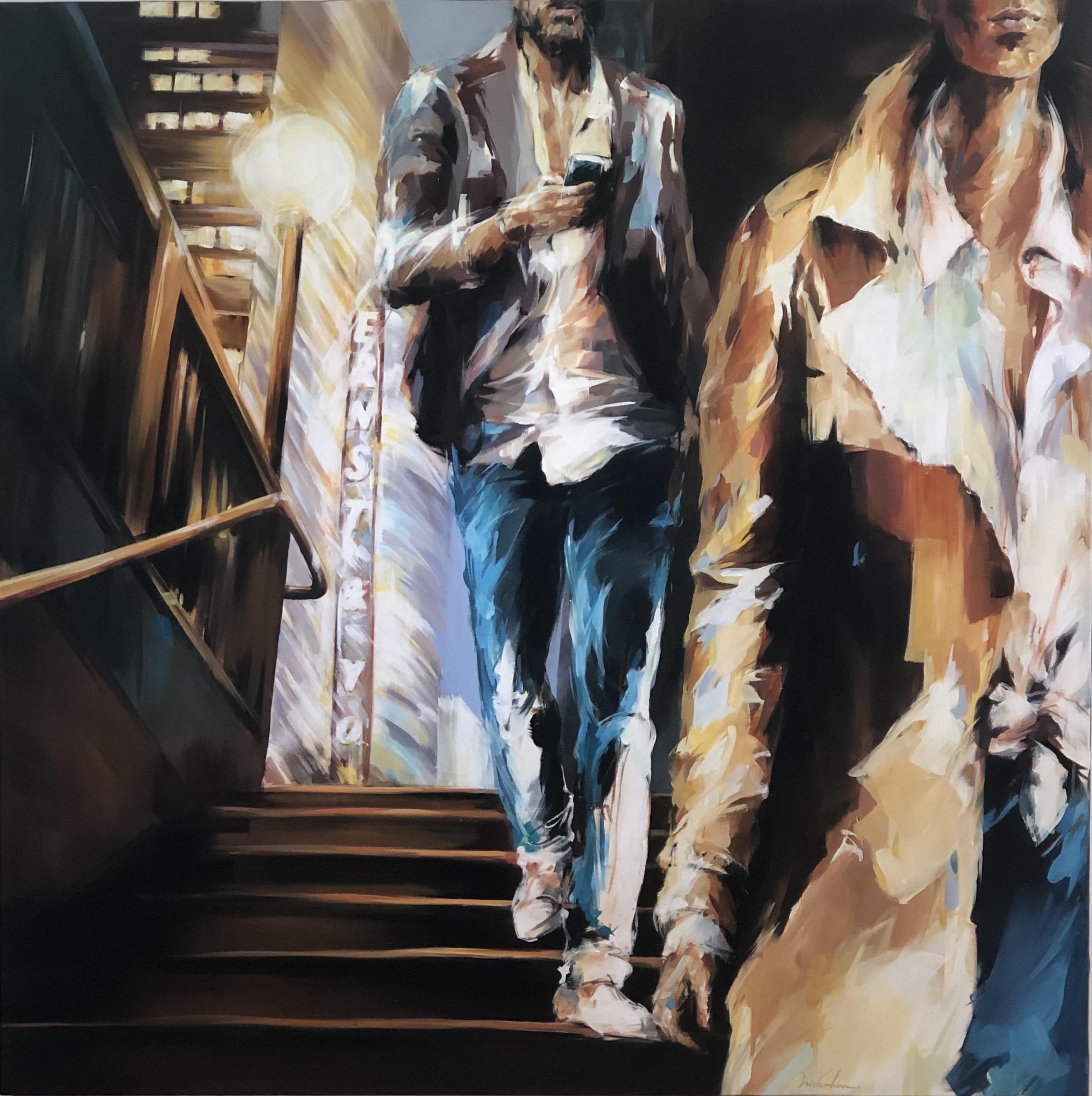 Range-of-Arts-Painting-Murielle-Vanhove-Elles-Metro-120x120cm