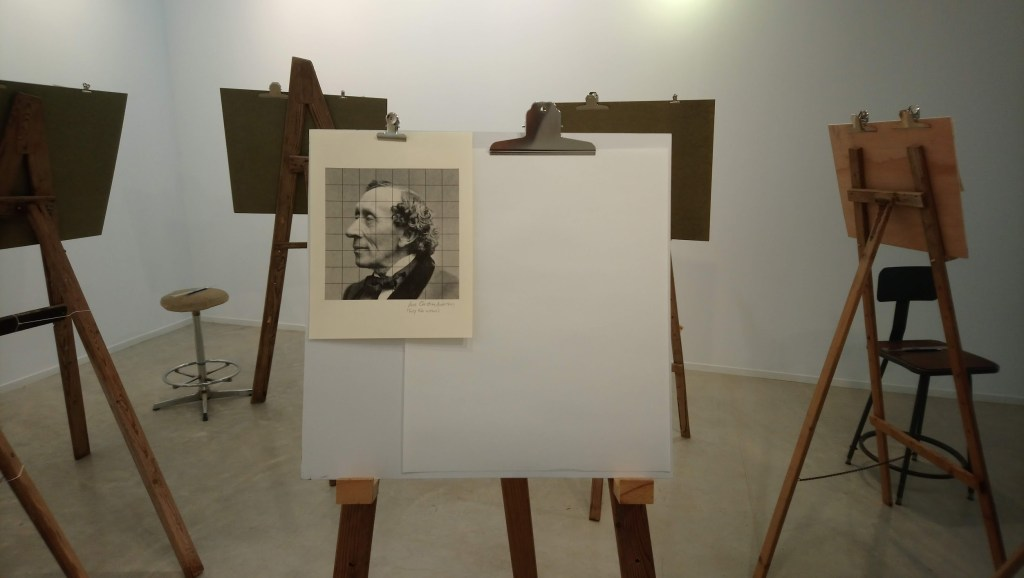 Learn to draw faces at this art Workshop in the Upper Galilee