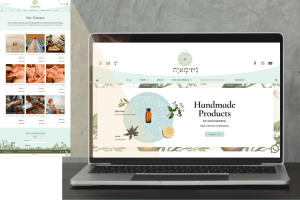 Holistic Products and Classes - eCommerce Website Design