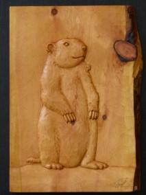 Marmotte en arolle