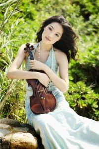 Korean-American violinist Rachel Lee Priday.