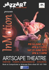 Jazzart celebrate youth at Artscape with INMOTION.
