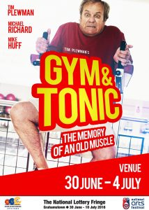 Tim Plewman's new offering, Gym and Tonic: The Memory of an Old Muscle