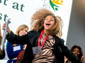 Dirja Lekas was announced as winner of the first Divas Unite Young Divas Singing Competition.