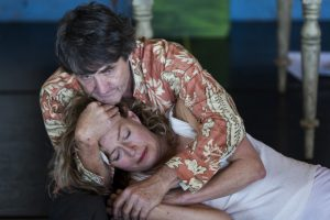 Andrew Buckland and Jennifer Steyn in Lara Foot's The Inconvenience of Wings. Pic by Oscar 'O Ryan