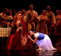 Margaret Severin-Hansen as Giselle adoring Bathilde