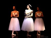 The ominous trio: Lara O'Brien, Alicia Fabry and Lindsay Purrington