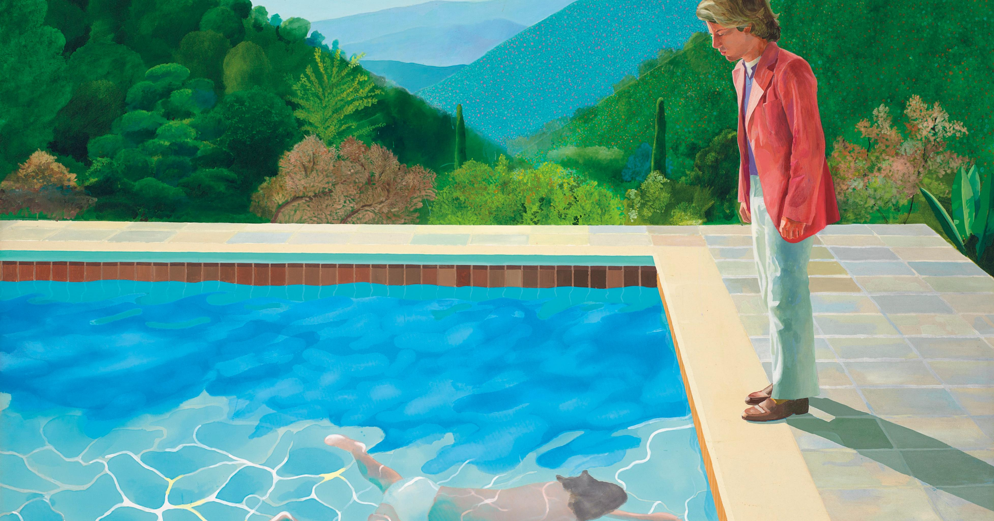 Why This Painting Will Make David Hockney The Most Expensive Living Artist Artsy