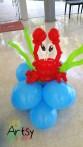 Balloon crab display