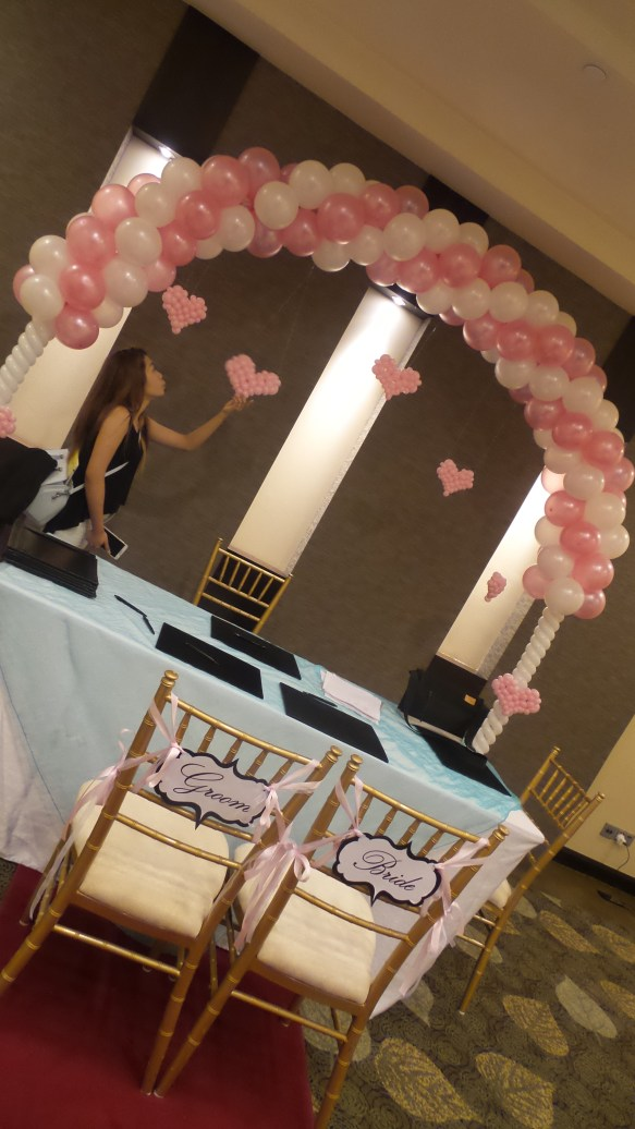 , Wedding Decoration Package, Singapore Balloon Decoration Services - Balloon Workshop and Balloon Sculpting