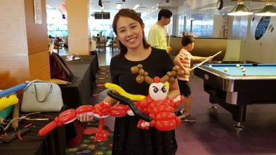 Chinese dragon balloon sculpture