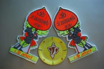 Thermocol Ganesha Craft