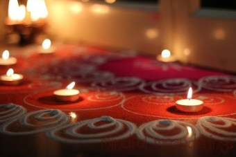 Diwali decor in pictures