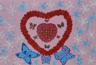 Heart Crafts for Valentine's day