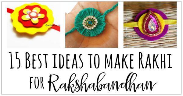 how to make rakhi