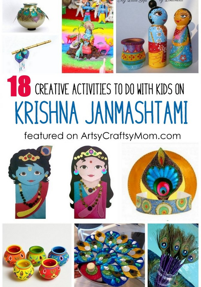 18 Creative Activities To Do On Krishna Janmashtami With Kids