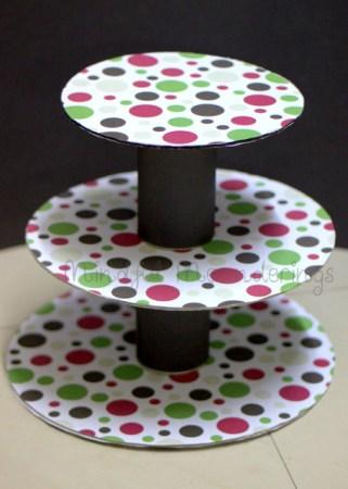 DIY 3 Tier Cupcake stand