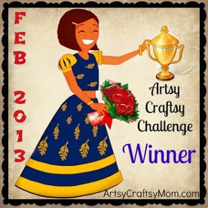 50 + Valentine crafts and AC Feb Winners