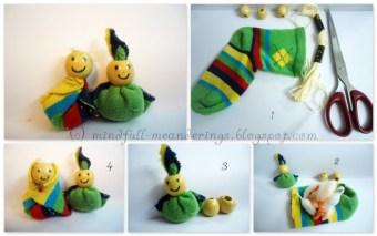 Tiny Bead Sock Gnome - DIY