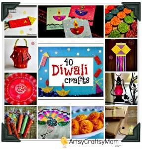 handmade Diwali card 1