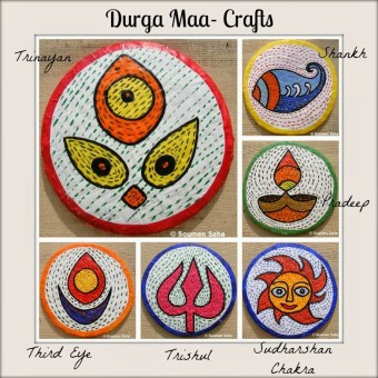 Day 6 – Durga Maa Crafts