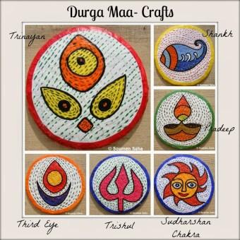 Day 6 – Durga Maa Crafts