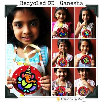 Ganesha Car hanging – CD Craft