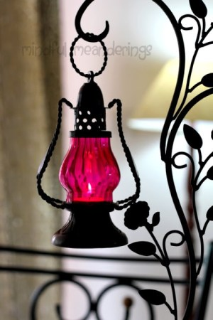 Diwali decoration - turkish lanterns