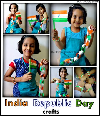 India Republic Day Crafts for kids to make