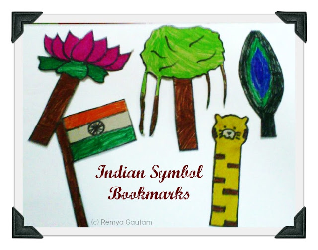 Craft For Flag Of India: Indian National Symbol Bookmarks