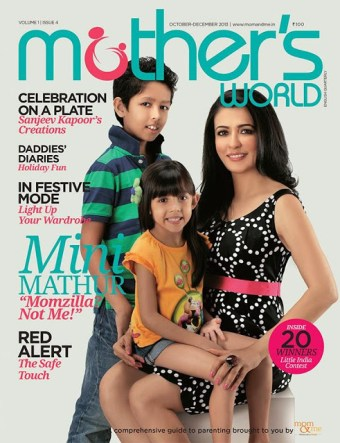 Featured in Mothers World Magazine Oct2013 Edition
