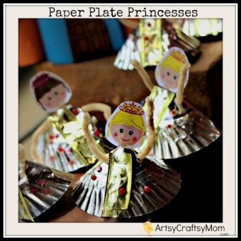 Paper Plate Princess Craft