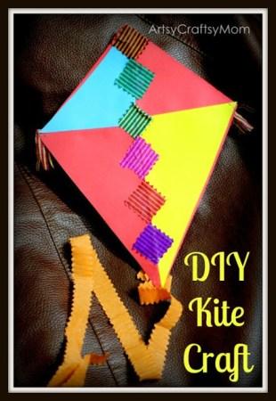 Sankranti Kite craft