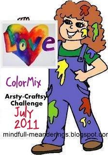 Colour mix entries so far